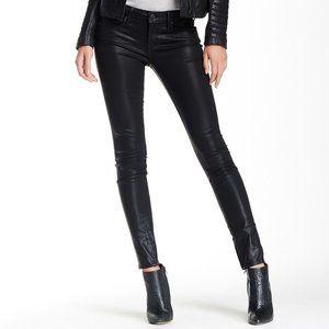 Vince Zip Ankle Black Skinny Jeans